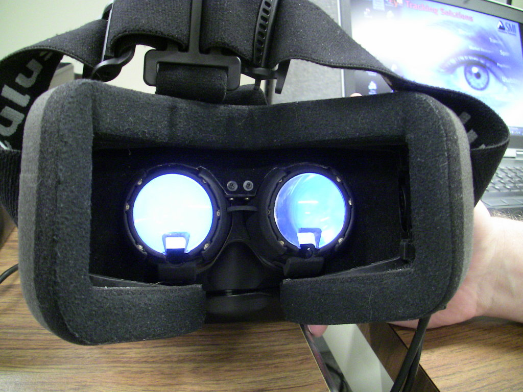 SMI Oculus Rift DK1