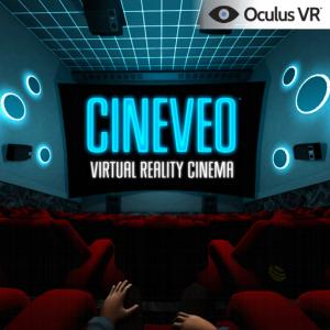 Виртуальный кинотеатр для  Oculus Rift под названием CINEVEO - Virtual Reality Cinema