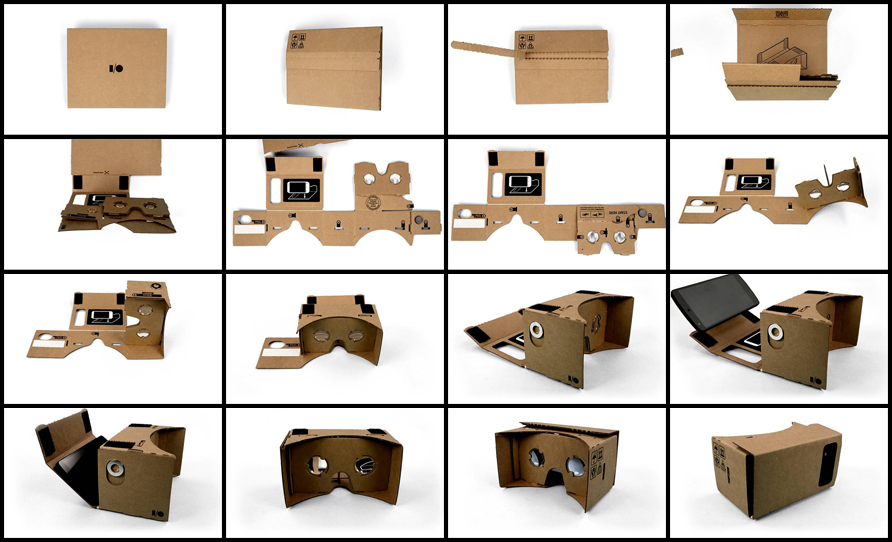 Google cardboard instructions assembly