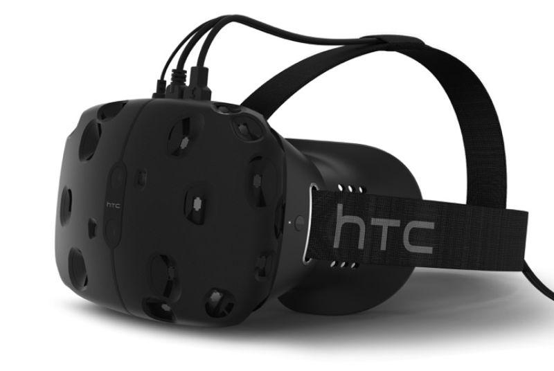 Новый шлем виртуальной реальности разработанный Valve совместно с HTC под названием Vive.