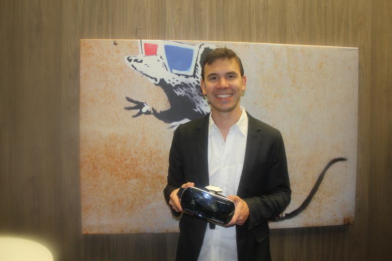 Нэйт Митчелл, один из основателей Oculus VR
