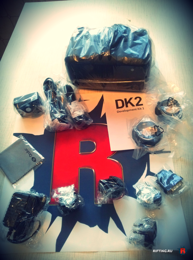Oculus Rift DK2: Анбоксинг | Распаковка