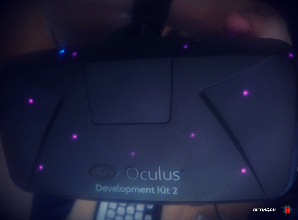 Oculus Rift DK2 irled