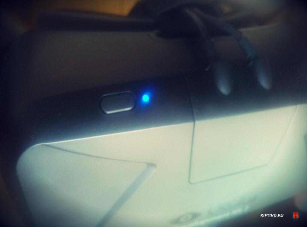 Oculus Rift DK2 light