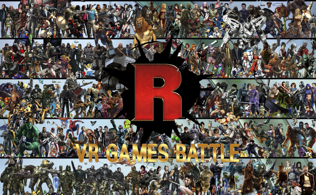 VR games battle