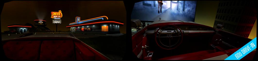 CINEVEO - 60s Drive In Movie Theater | Открытый автокинотеатр 1960-х годов
