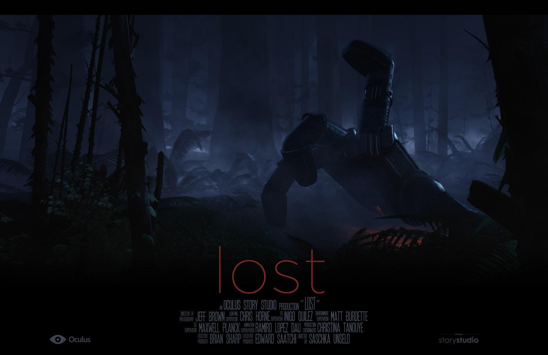 """""""Lost"""" небольшой пример кинематографии с эффектом погружения от Oculus Story Studio."""